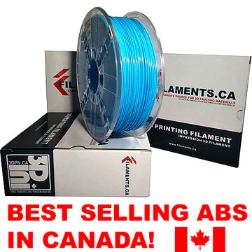 ABS Filament - LIGHT BLUE - 2.85mm