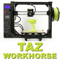 Lulzbot TAZ Workhorse Edition 3D Printer Canada