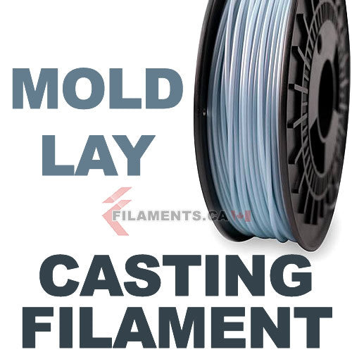 Mold-Lay Wax Casting 3D Printer Filament Canada