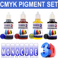 Monocure 3D CMYK Colour Pigment SET