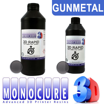 Monocure 3D RAPID UV Resin - GUNMETAL GREY