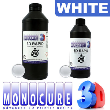 Monocure 3D RAPID UV Resin - WHITE