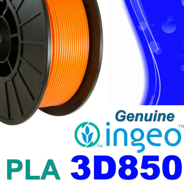 Genuine INGEO PLA 3D850 Filament - Orange - 1.75mm