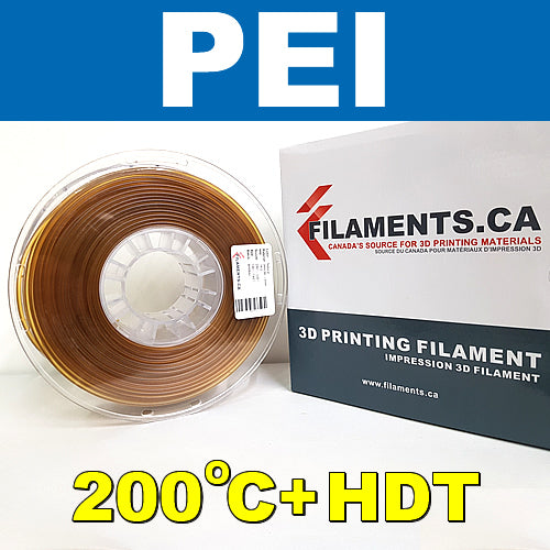 PEI 3D printer filament Canada