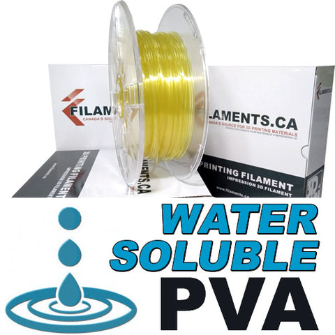 Water Soluble PVA Filament for 3D Printing - Canada
