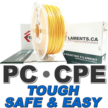 Easy PC CPE Filament - PEARL GOLD - 2.85mm