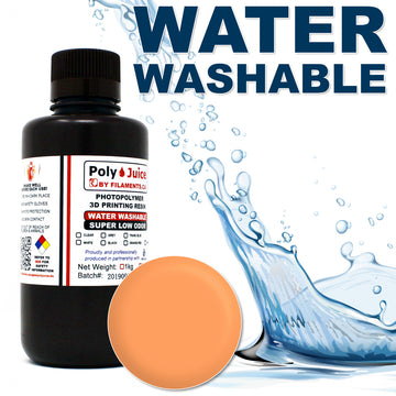 PolyJuice WATER WASHABLE Resin - Orange Red