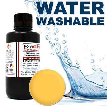 PolyJuice WATER WASHABLE Resin - Yellow