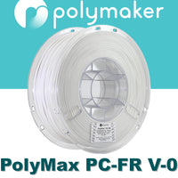 Polymaker PolyMax PC-FR Flame Retardant 3D Printing Filaments Canada