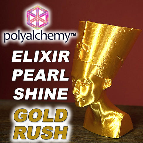 Polyalchemy Elixir GOLD PLA 3D Printer Filament Canada