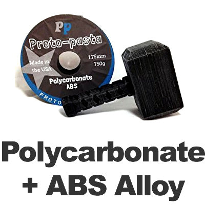 Proto-Pasta High Temperature Polycarbonate-ABS Alloy 3d printer filament Canada