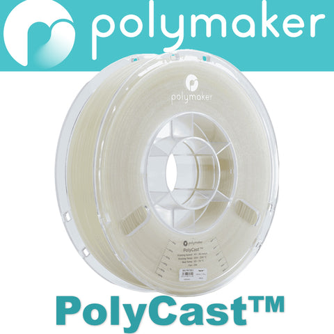 PolyCast - 3KG - Metal Casting Filament - 1.75mm