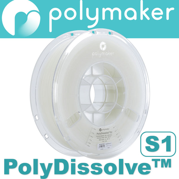 Polymaker PolyDissolve S1 Water Soluble Support 3D Printing Filament Canada