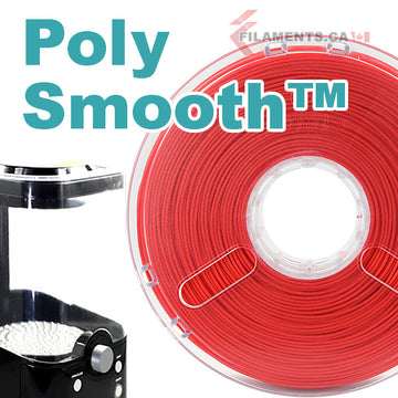 PolySmooth™ Filament - Coral Red - 1.75mm
