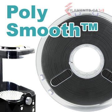 PolySmooth™ Filament - Jet Black - 1.75mm
