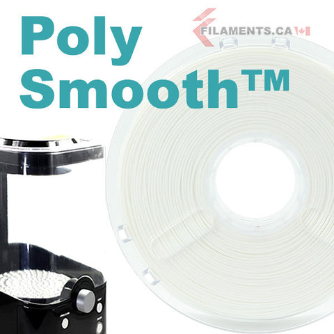 PolyMaker PolySmooth Polysher 3D Printer Filament Canada