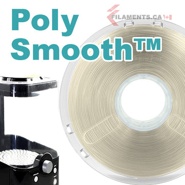 PolySmooth™ Filament - TRANSPARENT - 1.75mm