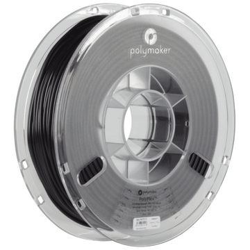 PolyFlex™ TPU95 Flexible Filament - BLACK - 1.75mm
