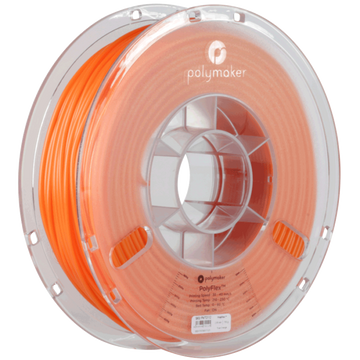 PolyFlex™ TPU95 Flexible Filament - Orange - 1.75mm