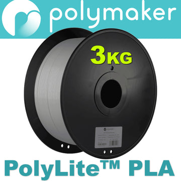 PolyLite™ 3KG PLA - Grey- 1.75mm