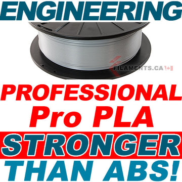Engineering Pro PLA /  APLA+ - Industrial Grey - 1.75mm