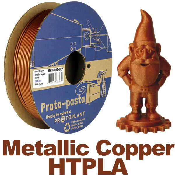 Proto-Pasta Burnt Orange Metallic Copper HTPLA Canada