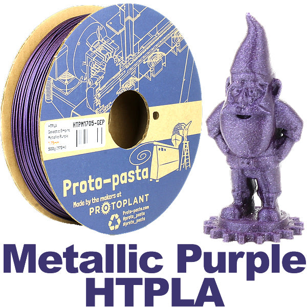 Proto-Pasta Galactic Empire Metallic Purple HTPLA 3D filament