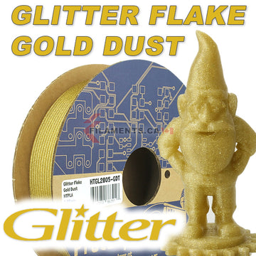 Glitter Flake HTPLA - Gold Dust - 2.85mm