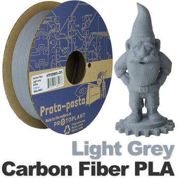 Carbon Fiber HTPLA - Light Grey - 1.75mm