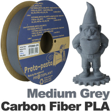 Carbon Fiber HTPLA - Medium Grey - 1.75mm
