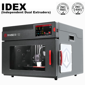 Raise3D E2 IDEX (Independent Dual Extruders) 3D Printer