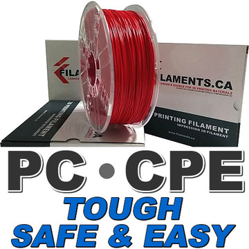 Easy PC CPE Filament - RED - 1.75mm