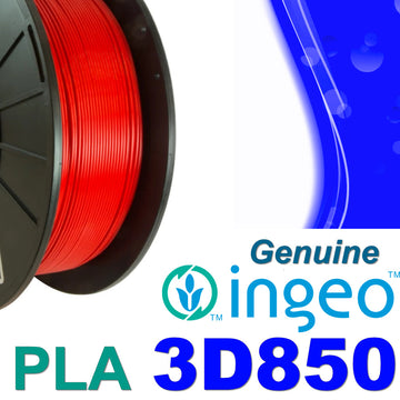 Genuine INGEO PLA 3D850 Filament - Red - 1.75mm