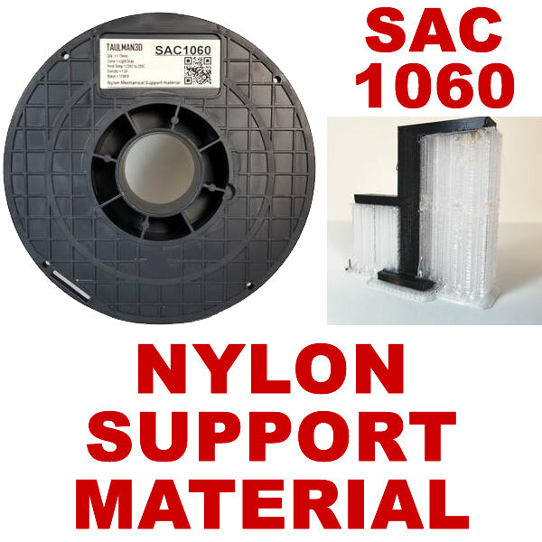 Taulman3D SAC1060 Mechanically removable support material for Nylon 3D Printing Filament Canada