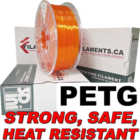 PETG filament for 3d printing printer Canada