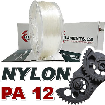 Nylon PA12 - Clear - 1.75mm