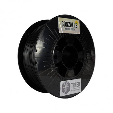 Gonzales High Speed PLA - Black - 1.75mm - 1KG