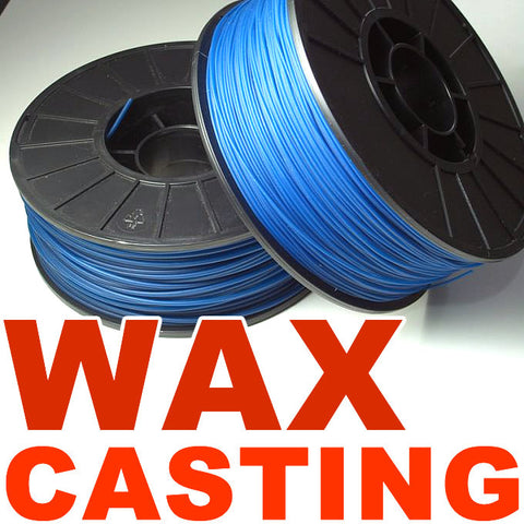 Wax casting 3D printer filament Canada