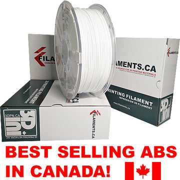 ABS Filament - WHITE - 1.75mm