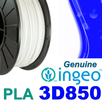 Genuine INGEO PLA 3D850 Filament - White - 1.75mm