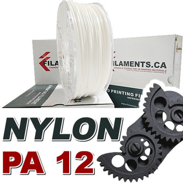 Nylon PA12 - White - 1.75mm