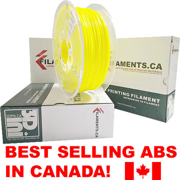 ABS Filament - YELLOW - 2.85mm
