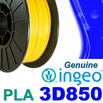 Genuine INGEO PLA 3D850 Filament - Yellow - 1.75mm