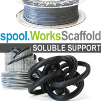 e3d spoolworks scaffold water soluble support 3d printing filament Canada