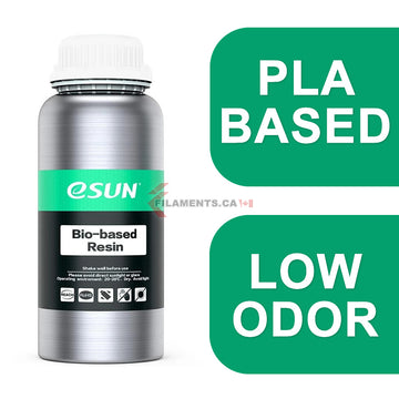 eResin PLA Bio-Based Photopolymer Resin - CLEAR