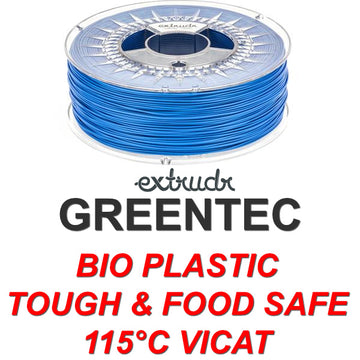 GreenTEC - High Performance Biopolymer Filament - Blue - 2.85mm