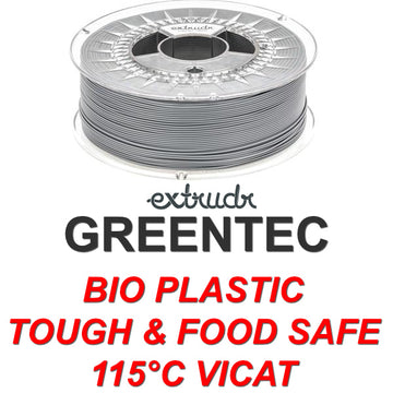 GreenTEC - High Performance Biopolymer Filament - Grey - 2.85mm