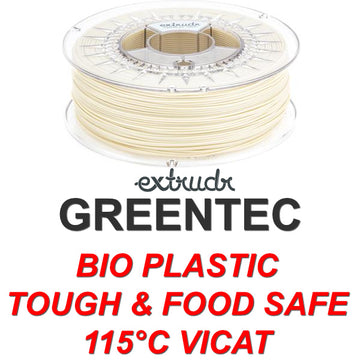 GreenTEC - High Performance Biopolymer Filament - Natural - 2.85mm