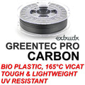 GreenTEC PRO CARBON- High Performance Biopolymer Filament - 2.85mm