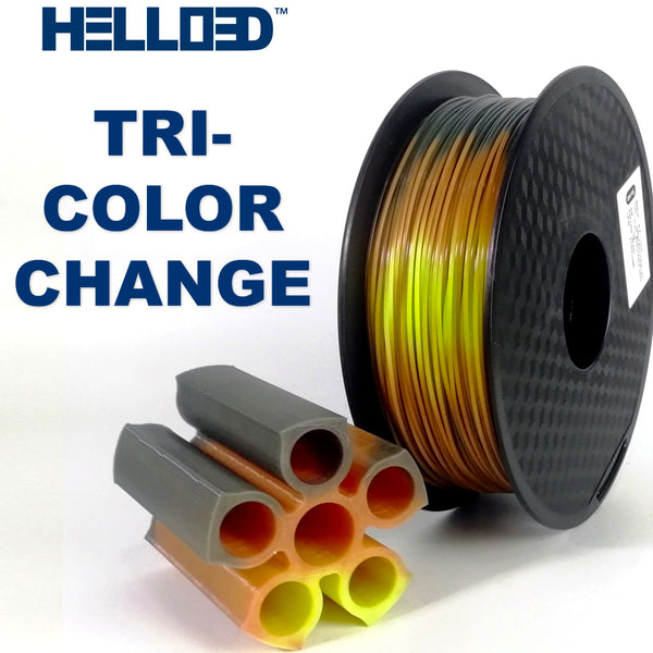 hello3d lava tri color changing pla 3d printer filament Canada